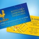 Rosticceria La Meta biglietto da visita