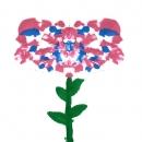 Fiore tempera disegno infanzia Silvia ricotta