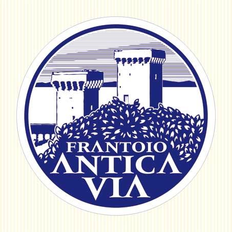 logo loghi antica via bianco nero produttore olio Battaglini