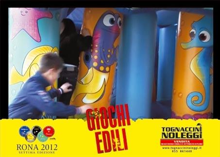 Tognaccini giochi edili 2012