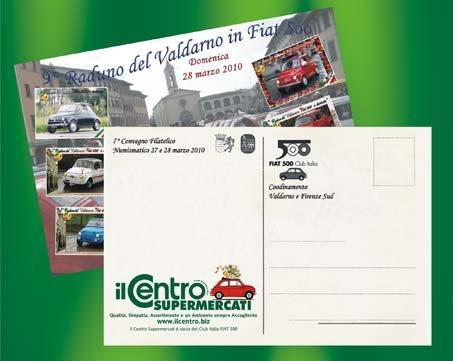 Il Centro Cartolina cartoline raduno 500