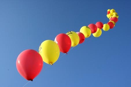 CM palloncini colorati