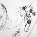 daniele manetti disegno con penna a sfera
