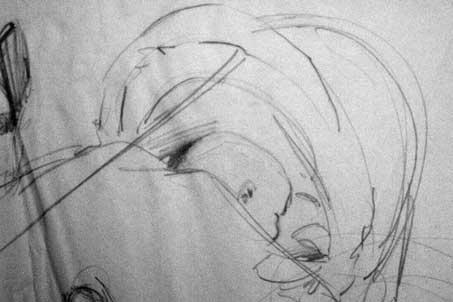 daniele manetti disegno a matita