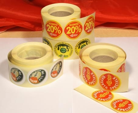 Bollini adesivi
