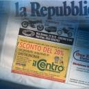 Il Centro annuncio La Repubblica