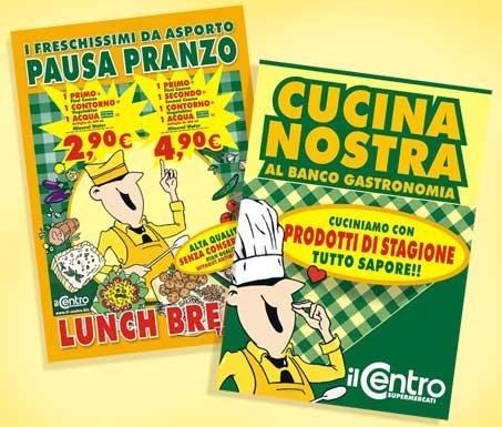 Il Centro poster Cucina