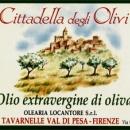 Etichetta etichette olio extravergine di oliva daniele