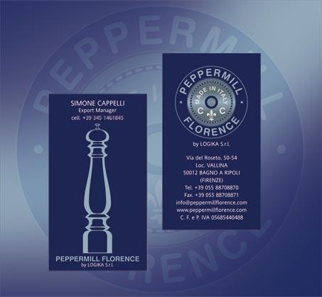 Peppermill biglietti da visita